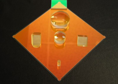 Lenses with AR coating